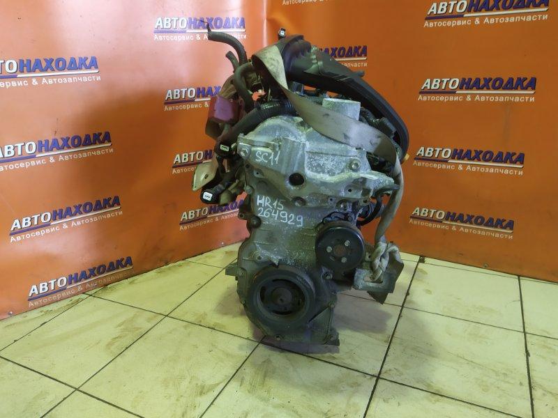 Двигатель Nissan Tiida Latio SC11 HR15DE ГОЛЫЙ 70T.KM