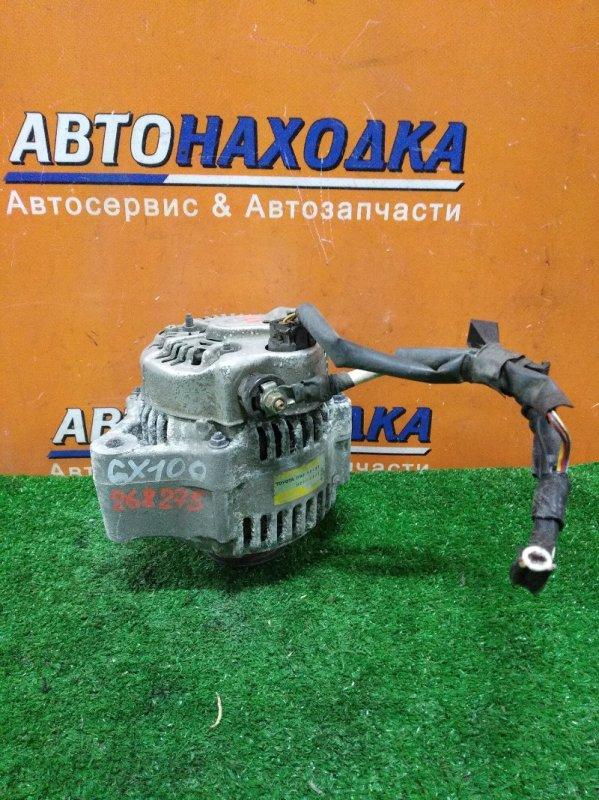 Генератор Toyota Mark Ii GX100 1G-FE 04.1999 ОВАЛЬНАЯ ФИШКА 3 КОНТАКТА. 12V80A,