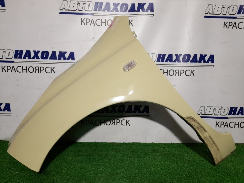 Крыло Nissan March AK12 CR12DE 2002 переднее левое FL с поворотником, ХТС, цвет J11