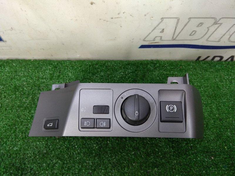 Переключатель света Bmw 735I E65 N62B36 2001 Правый руль. С облицовкой, с кнопками включения