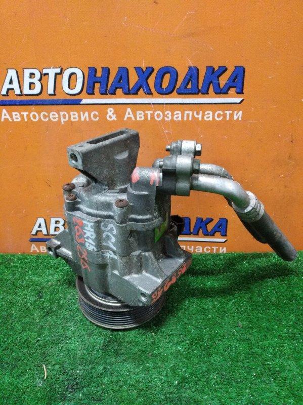 Компрессор кондиционера Nissan Tiida Latio SC11 HR15DE 02.2007