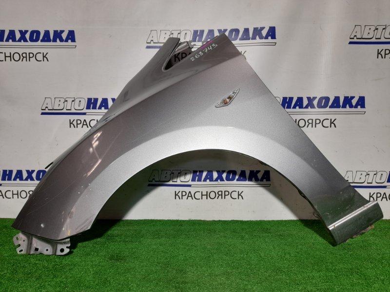 Крыло Mazda Premacy CWEFW LF-VDS 2010 переднее левое FL с поворотником, есть вмятинка на арке *