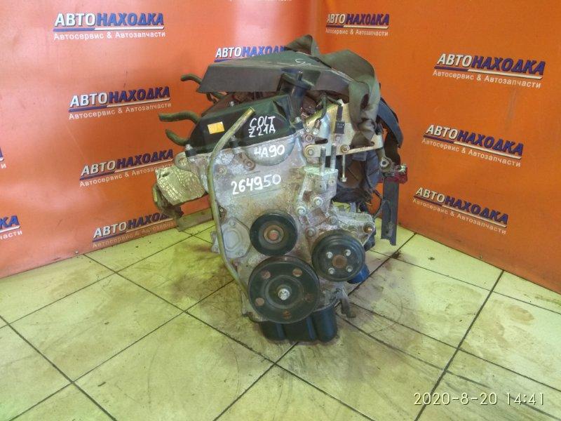 Двигатель Mitsubishi Colt Z21A 4A90 без навесного , пробег 80T.KM