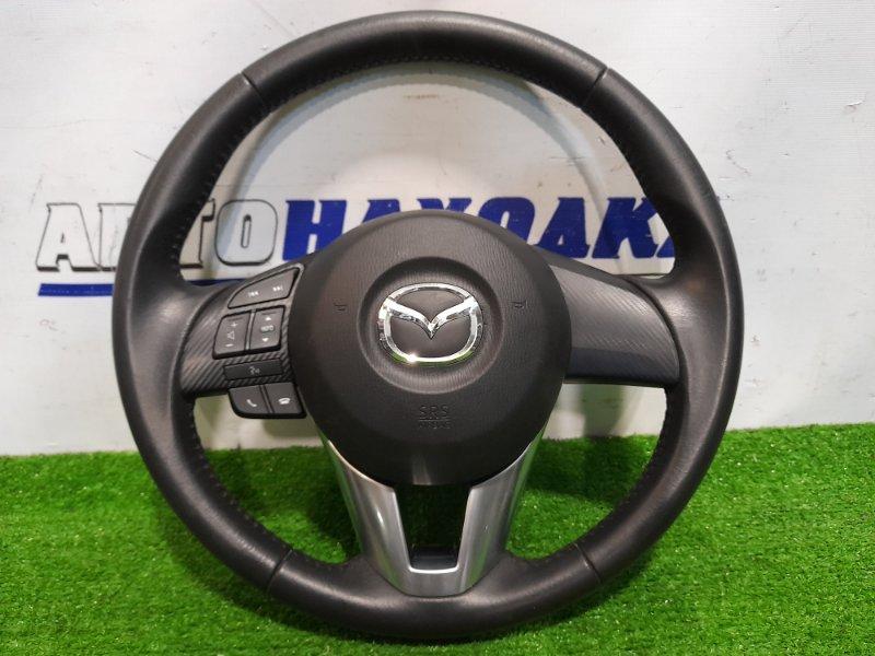 Airbag Mazda Demio DJ3FS P3-VPS 2014 с рулем, кожа в ХТС, с кнопками, с подушкой, без заряда