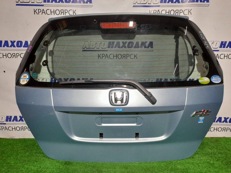 Дверь задняя Honda Fit GD1 L13A 2001 задняя В сборе. В ХТС. Цвет B528M.