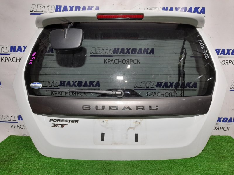 Дверь задняя Subaru Forester SG5 EJ20-T 2002 задняя В сборе. 1 мод. Цвет 51E. Почти в ХТС (на самом