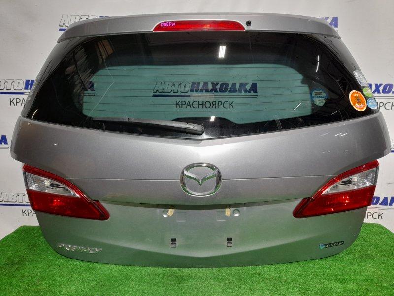 Дверь задняя Mazda Premacy CWEFW LF-VDS 2010 задняя В сборе. Почти в ХТС (вмятинка в самом верху) С