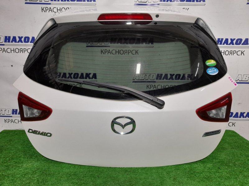 Дверь задняя Mazda Demio DJ3FS P3-VPS 2014 задняя В сборе. В ХТС.
