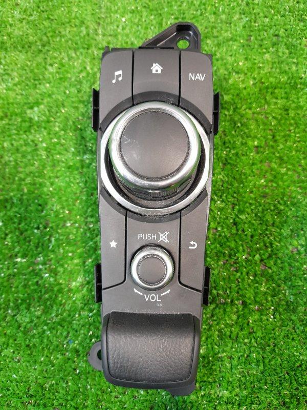 Кнопки в салон Mazda Demio DJ3FS P3-VPS 2014 пульт управления навигацией и мультимедиа