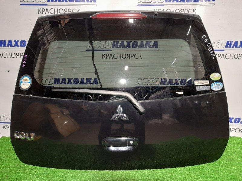 Дверь задняя Mitsubishi Colt Z21A 4A90 2002 задняя В сборе. Цвет X42A. В ХТС.