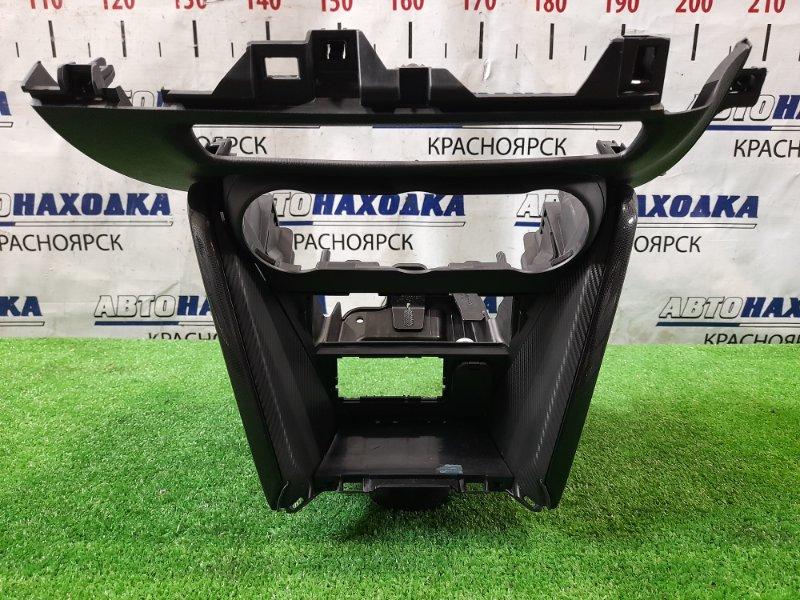 Консоль магнитофона Mazda Demio DJ3FS P3-VPS 2014 облицовка центральной консоли вокруг блока
