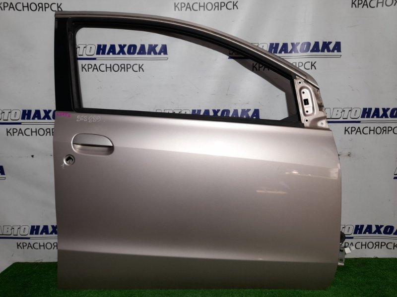 Дверь Daihatsu Mira L275S KF-VE 2006 передняя правая FR в сборе, в ХТС, цвет T22