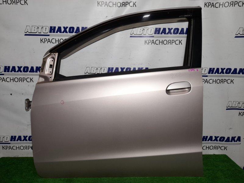 Дверь Daihatsu Mira L275S KF-VE 2006 передняя левая FL в сборе, почти в ХТС, цвет T22, есть тычка.