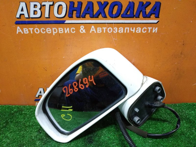 Зеркало Nissan Tiida Latio SC11 HR15DE 02.2007 левое 5 КОНТАКТОВ