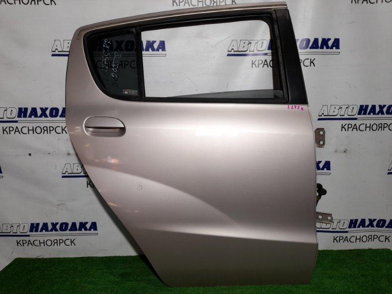 Дверь Daihatsu Mira L275S KF-VE 2006 задняя правая RR в сборе, почти в ХТС, цвет T22, есть тычка.