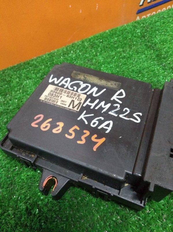 Компьютер Suzuki Wagon R HM22S K6A