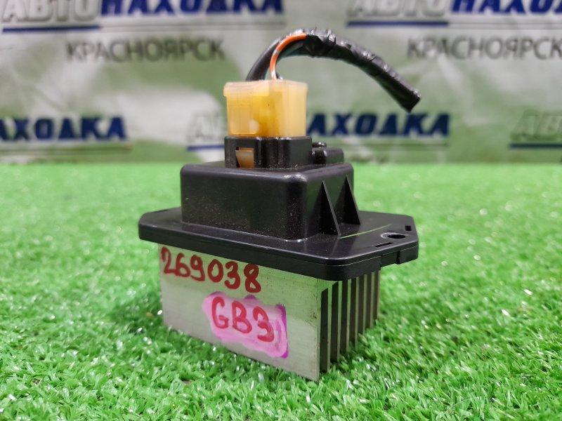Реостат печки Honda Freed GB3 L15A 2008 077800-0970 4 контакта, с фишкой