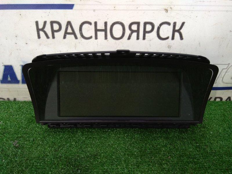 Телевизор в салон Bmw 735I E65 N62B36 2001 информационный дисплей с центра панели
