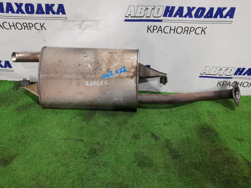 Глушитель Toyota Allion ZZT240 1ZZ-FE 2001 задний 17430-22300, 17430-22301 бочка задняя