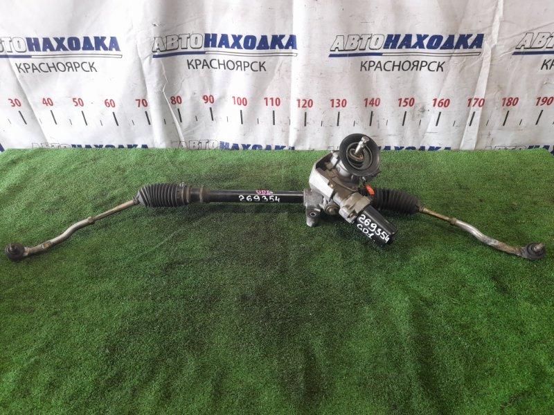 Рейка рулевая Honda Fit GD1 L13A 2001 электрическая, в сборе с тягами и наконечниками