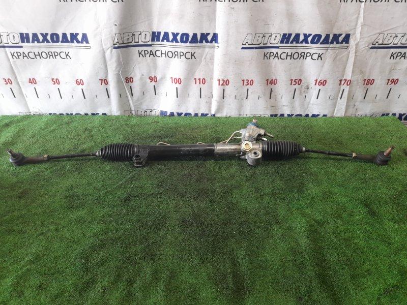 Рейка рулевая Nissan X-Trail NT30 QR20DE 2000 в сборе с тягами и наконечниками, правый руль,