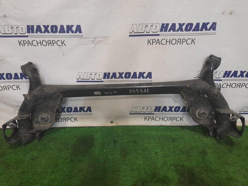 Балка поперечная Mazda Demio DJ3FS P3-VPS 2014 задняя задняя, голая, сайлентблоки в ХТС, пробег 19