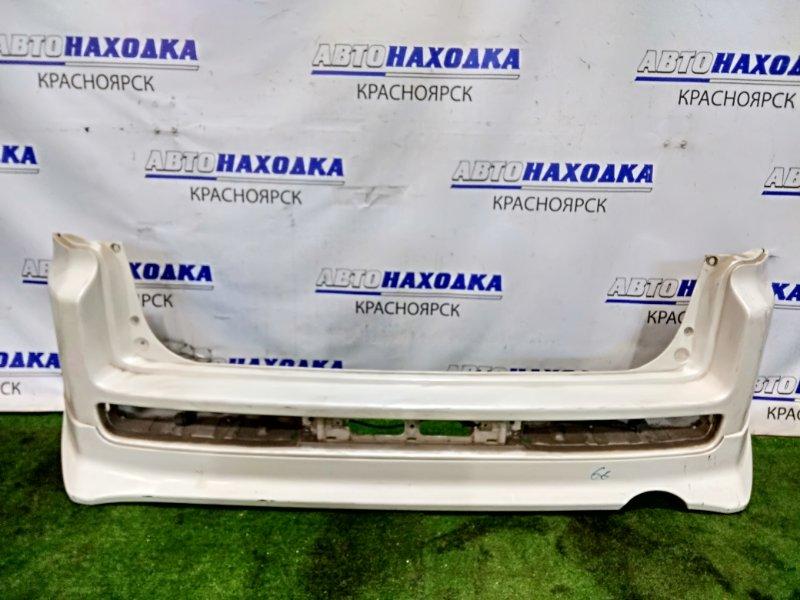 Бампер Honda Mobilio Spike GK1 L15A задний задний, 1мод. с юбкой, пошоркан, без стопов