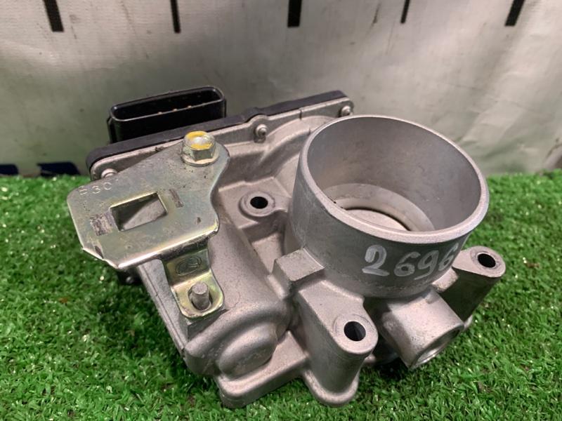Заслонка дроссельная Mazda Demio DJ3FS P3-VPS 2014 электро. В сборе. ХТС. Пробег 19 т.км.