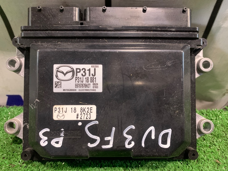 Компьютер Mazda Demio DJ3FS P3-VPS 2014 блок управления ДВС