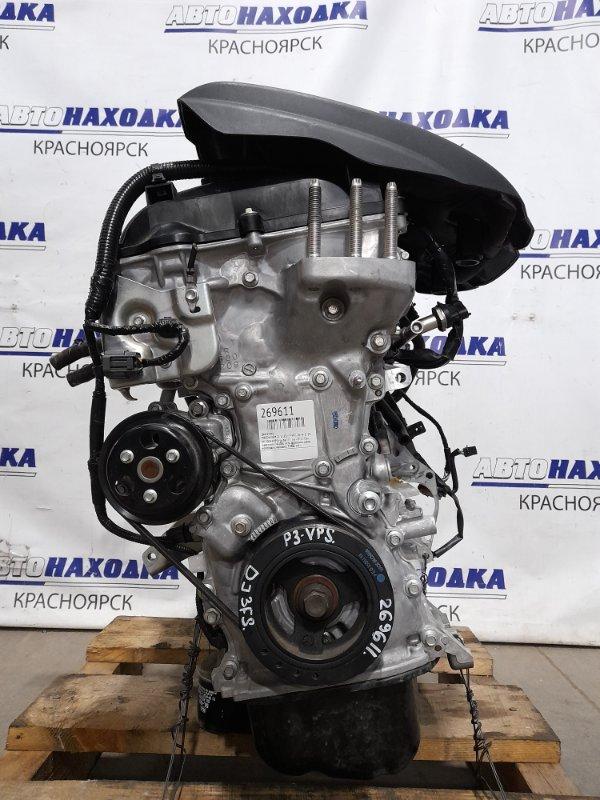 Двигатель Mazda Demio DJ3FS P3-VPS 2014 № 20241999 пробег 19 т.км. ОТС! Без навесного. На ДВС есть