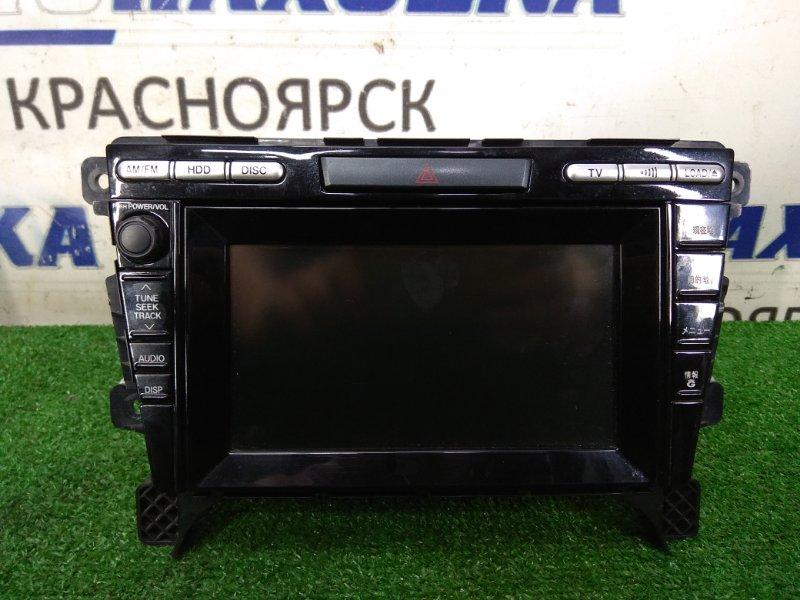 Магнитола Mazda Cx-7 ER3P L3-VDT 2006 штатная, с кнопкой аварийки, DVD / MP3 / HDD / NAVI / Radio, с фишками