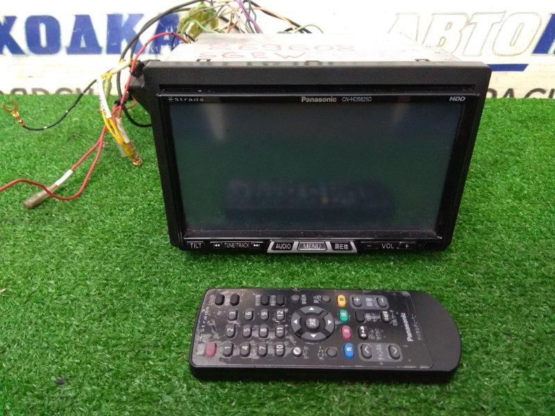 Магнитола Mazda Bongo Friendee SGEW FE-E 2001 CN-HDS625TD PANASONIC STRADA CN-HDS625TD, 2DIN, DVD/MP3/SD/HDD/RADIO/NAVI, с фишками,