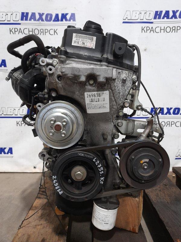 Двигатель Daihatsu Mira L275S KF-VE 2006 № A221061 пробег 39 т.км. ХТС. С аукционного авто. Есть видео
