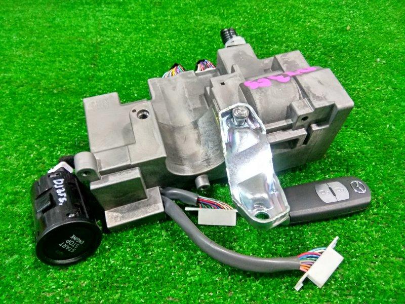 Замок зажигания Mazda Demio DJ3FS P3-VPS 2014 электронный + ключ-брелок, кнопка пуска