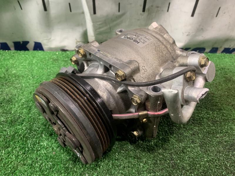 Компрессор кондиционера Honda Integra DB6 ZC 1998 пробег 29 т.км. ХТС. С аукционного авто.