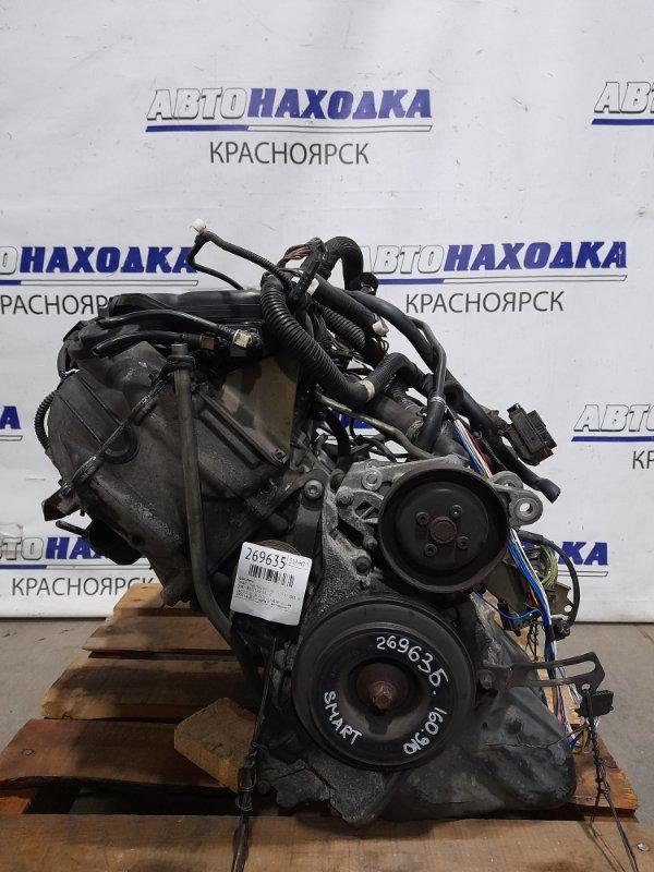 Двигатель Smart Fortwo 450.352 160.910 2003 160.910 № 40 397424 пробег 66 т.км . 2002 г.в. (0,7 л. турбо) С