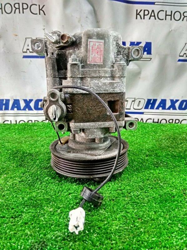 Компрессор кондиционера Mazda Axela BK5P ZY-VE 2006 пробег 94 т.км. ХТС. С аукционного авто.