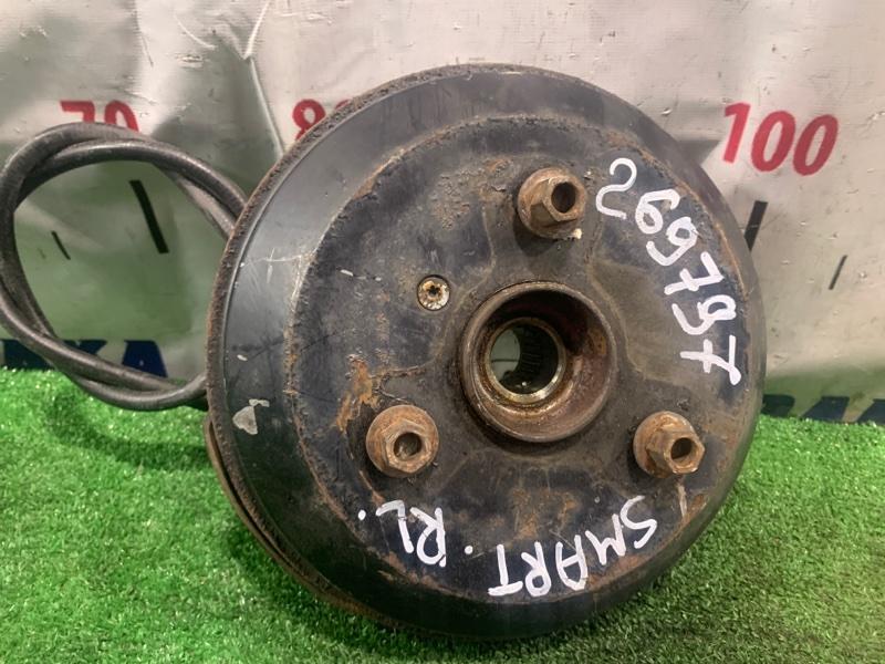 Ступица Smart Fortwo 450.352 160.910 2003 задняя левая RL в сборе (барабан, колодки, РТЦ, кожух, трос