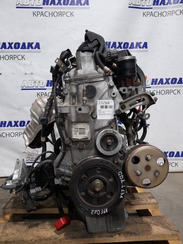 Двигатель Honda Fit GD1 L13A 2001 № 2067736 пробег 75 т.км. ХТС. С аукционного авто. Есть видео