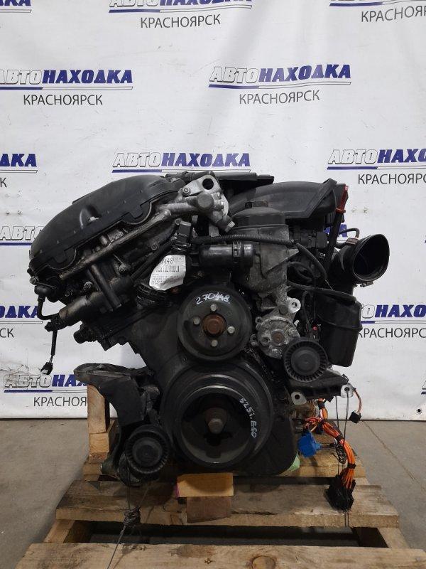Двигатель Bmw 525I E60 M54B25 2003 256 S5 (M54 B25) № 33113339 пробег 123 т.км. С аукционного авто. БЕз