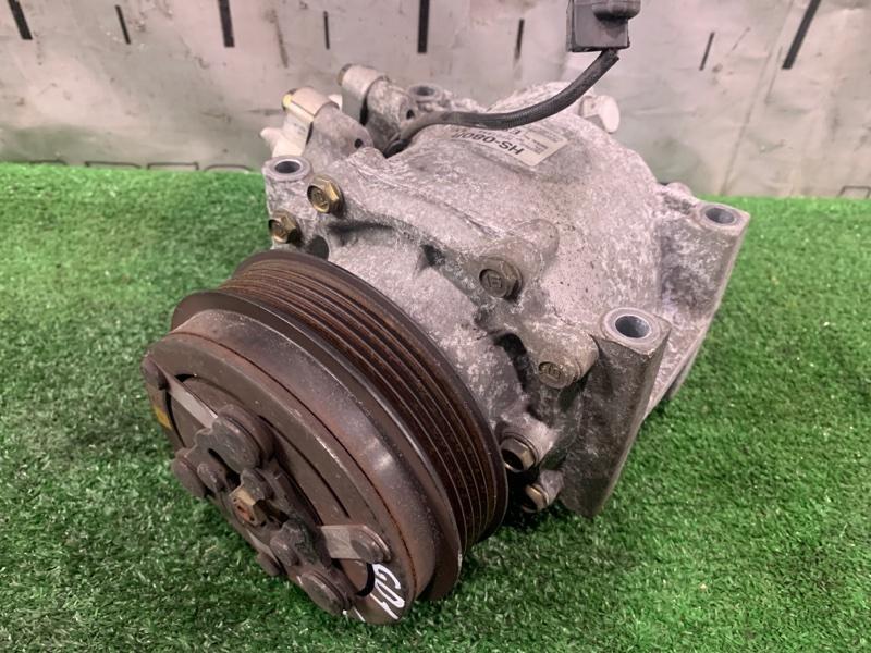Компрессор кондиционера Honda Fit GD1 L13A 2001 пробег 75 т.км. ХТС. С аукционного авто. 1 мод.