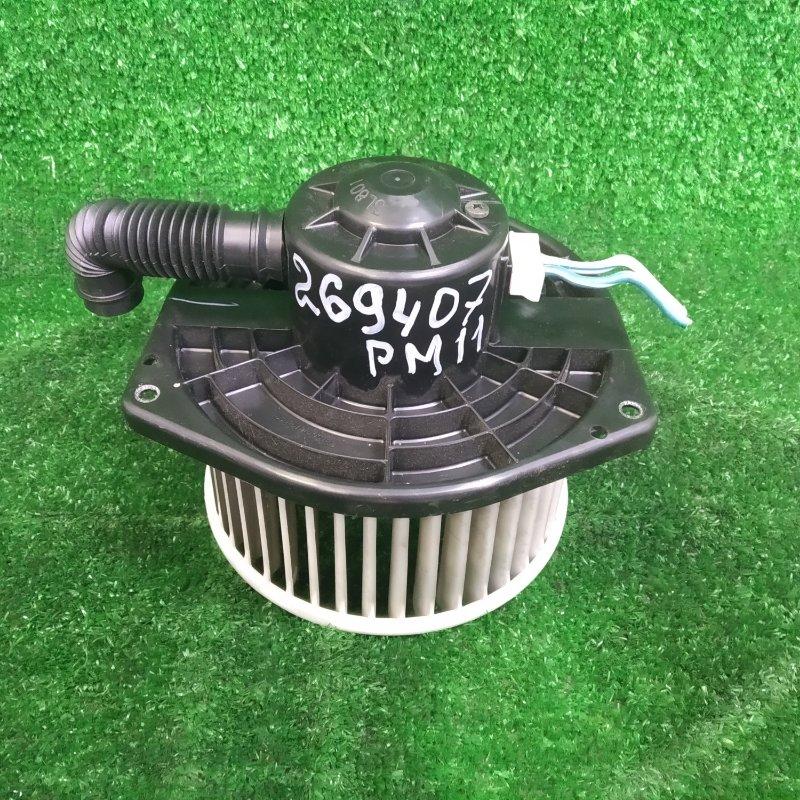 Мотор печки Nissan Liberty PM12 SR20DE 1998 с фишкой