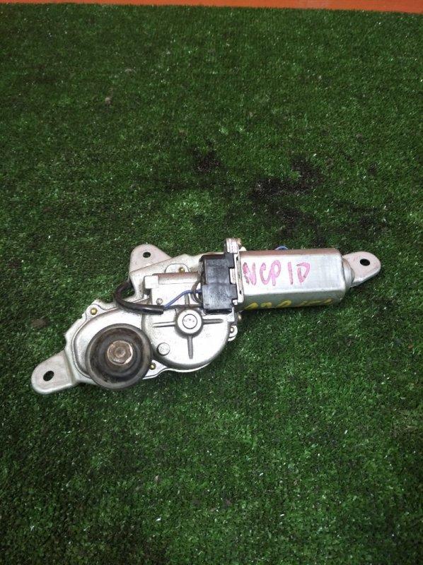 Мотор дворников Toyota Vitz SCP10 1SZ-FE 1999 передний Без тяг.