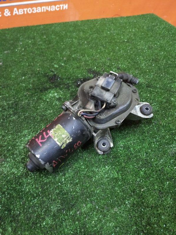 Мотор дворников Nissan Elgrand ATWE50 ZD30DDTI 1997 передний без тяг