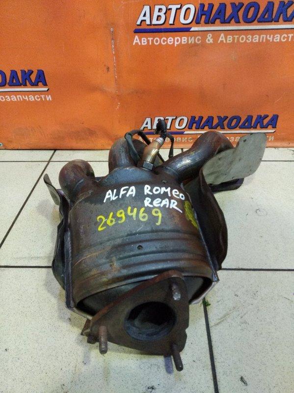 Коллектор выпускной Alfa Romeo 156 932A1100 AR32405 2002 задний +КАТАЛИЗАТОР