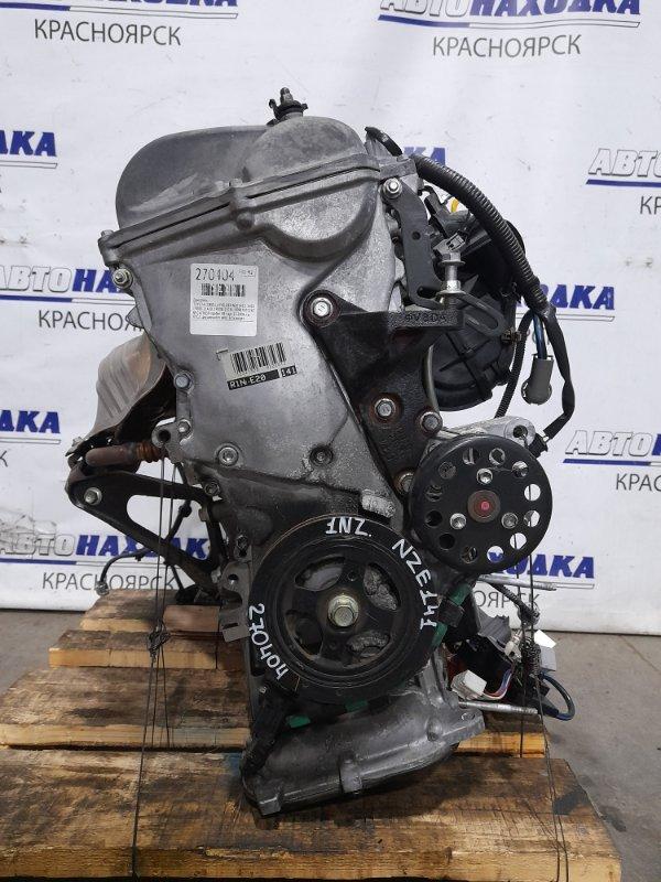 Двигатель Toyota Corolla Fielder NZE141G 1NZ-FE 2006 № C479639 пробег 38 т.км. 12.2006 г.в. ХТС. С аукционного