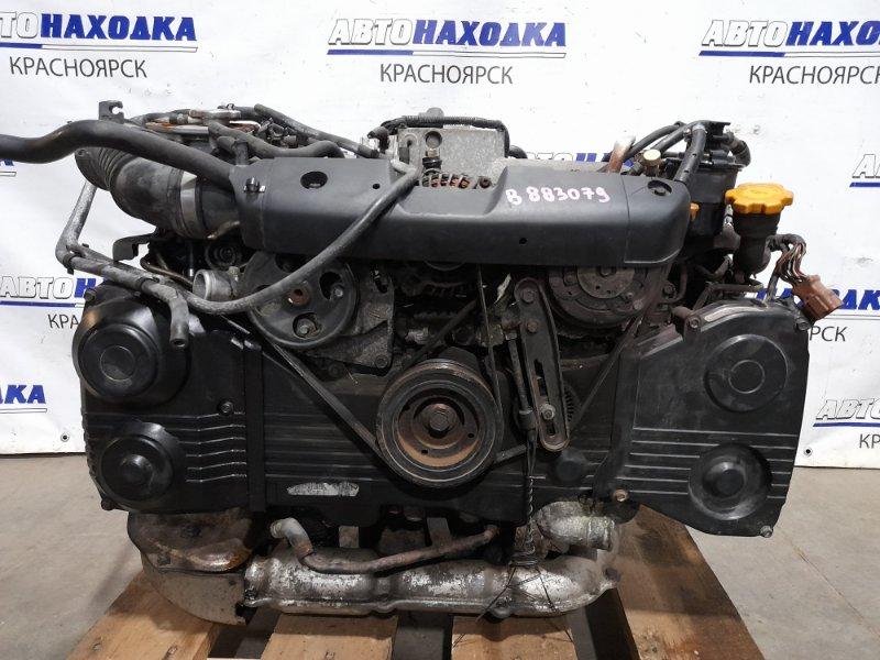 Двигатель Subaru Forester SG5 EJ20-T 2002 EJ205DWTKE (Турбо) № B883079 2003 г.в. В СБОРЕ! Пробег 105 т.км. ХТС.