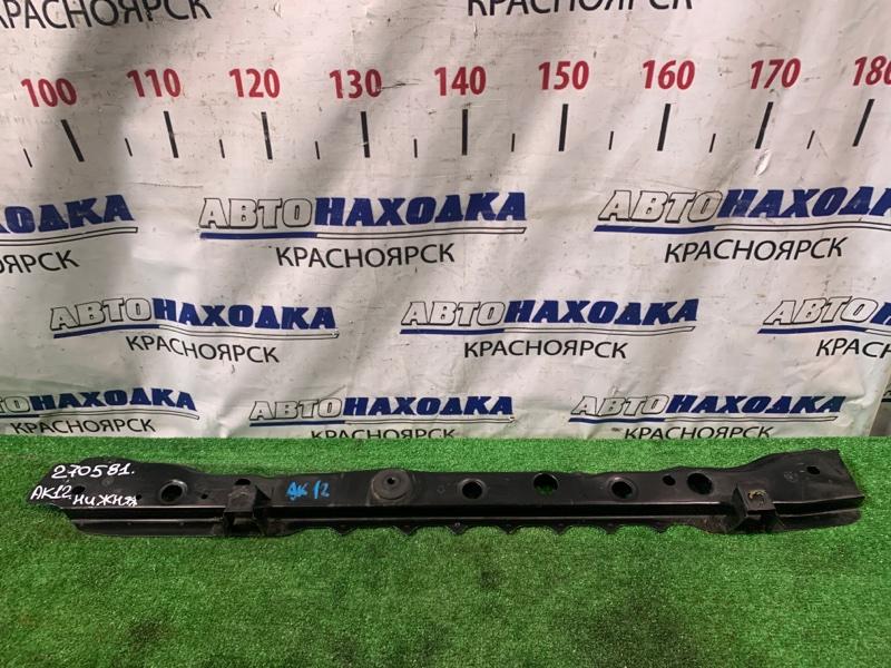 Рамка радиатора Nissan March AK12 CR12DE 2002 передняя нижняя часть рамки радитора
