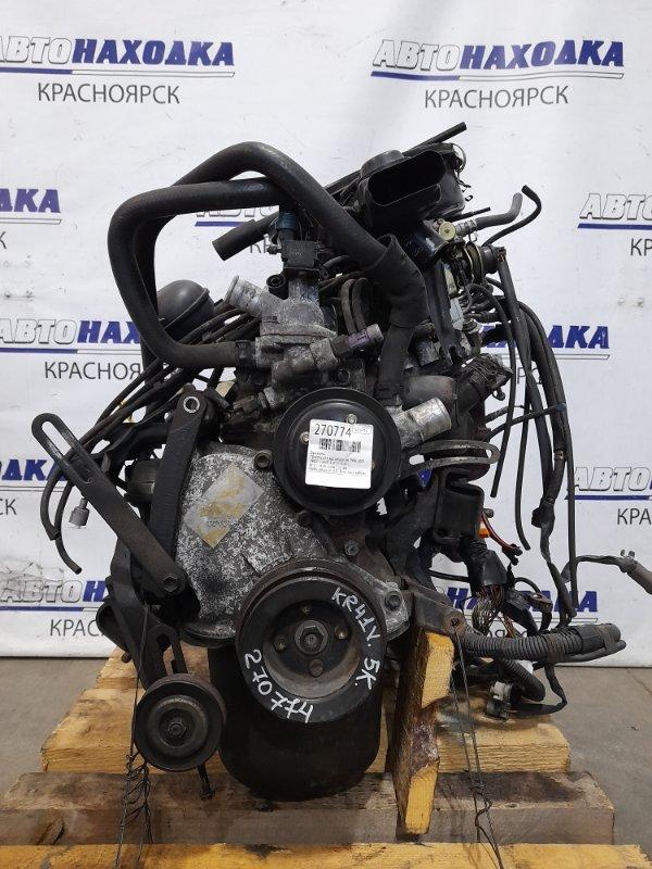 Двигатель Toyota Lite Ace KR41V 5K 1996 № 1334688 пробег 71 т.км. Карбюраторный. ХТС. Есть видео