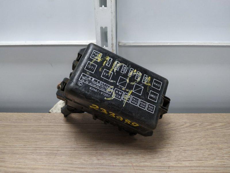 Блок предохранителей Toyota Duet M100A EJ-DE 1998 54524AX001 подкапотный